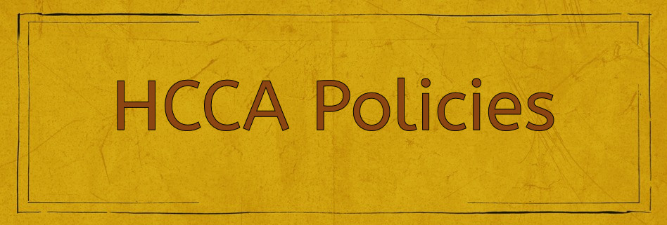 HCCA_Policies